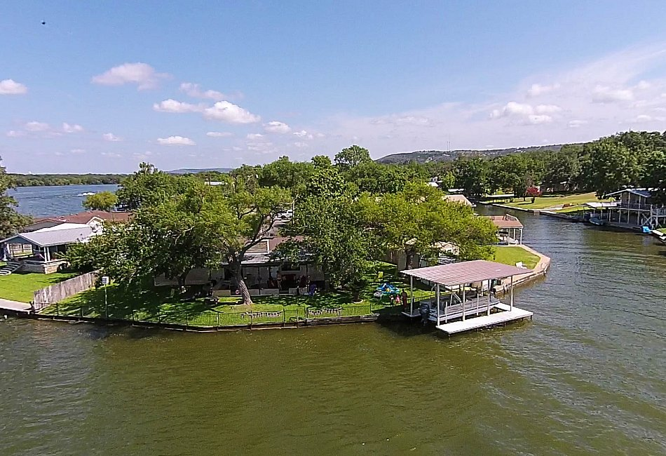 Lake LBJ Open Water Lake House